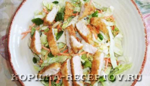 Куриный салат «Западный»